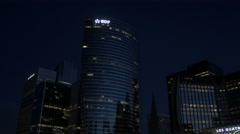 Paris La Défense 4K Stock Footage