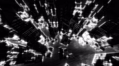 Equalizer City 4K Stock Footage