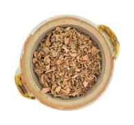 Witch hazel bark in a small bowl - stock photo