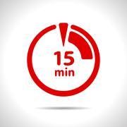 Timer icon - stock illustration