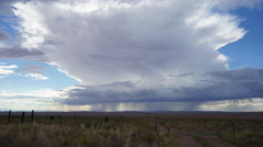Storm Cloud Timelapse in the American Southwest - stock footage