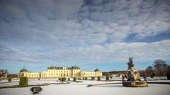 Drottningholm Palace Stock Footage