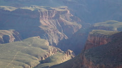 Morning time lapse in the Grand Canyon Stock Footage