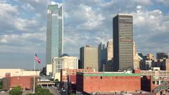 Oklahoma City, Oklahoma, USA Stock Footage