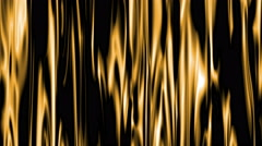 curtain background gold 4k - stock footage