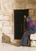Ethiopian priest Stock Photos