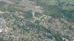 Suburban Portland Oregon Aerial - stock footage