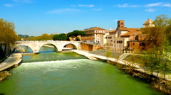 River Tiber Stock Footage