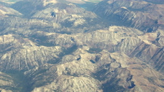North Central Oregon Mountains Aerial Stock Footage
