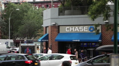 Chase Bank exterior. Stock Footage