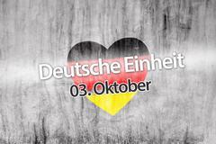 German reunification Stock Illustration