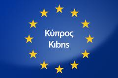Stock Illustration of Cyprus Europe flag