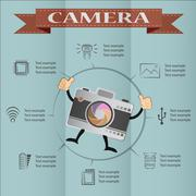 camera and Video icons ,Illustration eps 10 - stock illustration