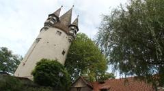 Lindau Mangturm - Rapunzel tower, Germany Stock Footage
