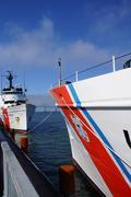 Coast Guard Cutter Steadfast and CG Cutter Alert Stock Photos