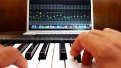 Home Recording Studio 4k Stock Footage