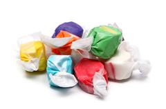 Saltwater Taffy - stock photo