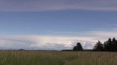 Panorama of Lake Clark National Park Stock Footage