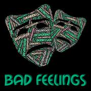 Bad Feelings Represents Ill Will And Animosity Stock Illustration