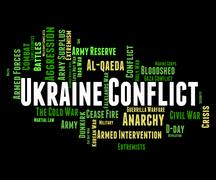 Ukraine Conflict Shows Fighting Campaigns And Wars Piirros