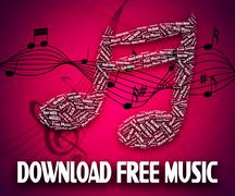 Download Free Music Shows For Nothing And Acoustic Stock Illustration