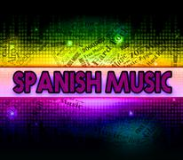 Spanish Music Represents Latin American And Classical Piirros