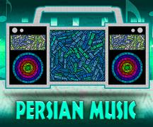 Persian Music Indicates Sound Tracks And Harmonies Stock Illustration