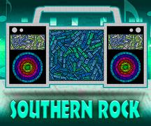 Southern Rock Represents Country Music And Harmonies Stock Illustration