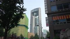 Jongno Tower Seoul South Korea Day Light Stock Footage