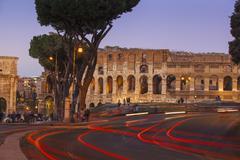 The Colosseum, UNESCO World Heritage Site, Rome, Lazio, Italy, Europe Stock Photos