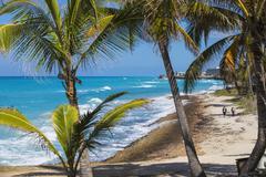 Varadero beach, Varadero, Cuba, West Indies, Caribbean, Central America Stock Photos