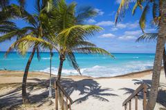 Varadero beach, Varadero, Cuba, West Indies, Caribbean, Central America - stock photo