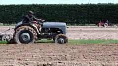 Massey Ferguson tractor. Stock Footage
