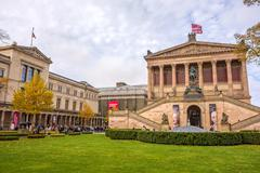 Stock Photo of Old National Gallery / New Museum, Berlin