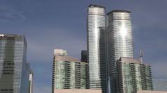 Toronto skyline of condos during real estate and condominium boom. Stock Footage
