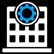 Corporation Icon - stock illustration