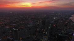 Aerial Tennessee Nashville Stock Footage