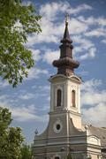 Church of Ascension in Subotica, Serbia Stock Photos