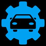 Automobile Service Icon - stock illustration