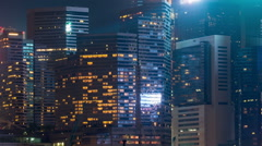 Compact building in Hong Kong. Stock Footage