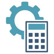 Engineering Calculations Icon - stock illustration