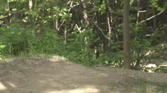 Mountain bike Freeride Stock Footage