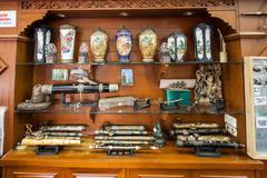 Hall of Opium Museum - stock photo