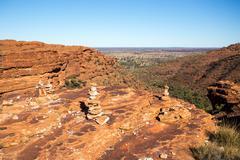 Kings Canyon Rocks - stock photo