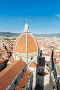 Cathedral church Santa Mariea del Fiore, Florence, Italy Stock Photos