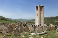 Stock Photo of Church of Holy Apostles Peter and Paul near Novi Pazar, Serbia