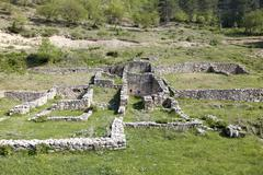 Stock Photo of Ruins of an ancient house, Montenegro