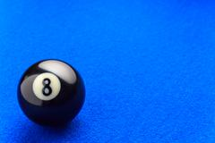 Eight ball. Stock Photos