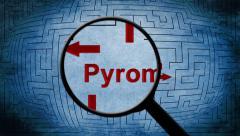 Pyromania maze concept Stock Footage
