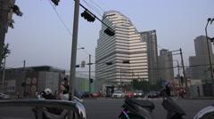 Cityscape of Seoul South Korea Stock Footage